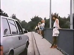 Old Chap With Call Girl In Car