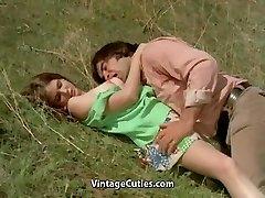 Guy Tries to Seduce teen in Meadow (1970s Vintage)
