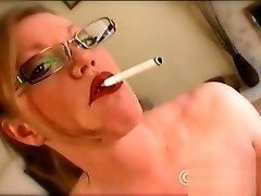 Smoking Blonde Lovemaking