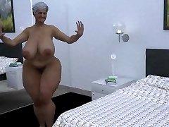 hefty mama dance cgi