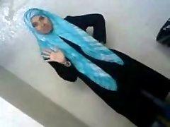 Sexy Arab College Schoolgirl Reveals Her Assets To BEAU