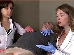 Dame therapists humiliate small dick