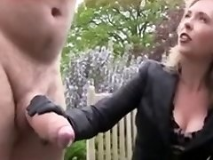 She Enjoys To Hear Him Cry While Jerking