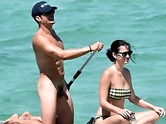Orlando Bloom Nude Meatpipe in Vacation with Katy Perry