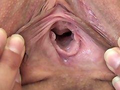 Teenager Melina fuckbox close up