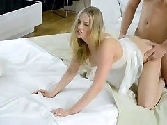 Teenager entirely creampied