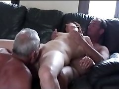 Cuckold three in action