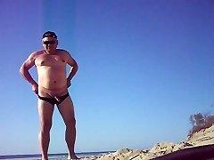 lilian bare in the beach 03