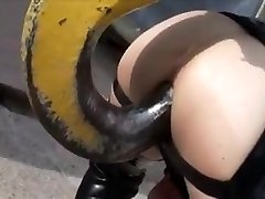 Latex fake penis-grua