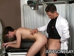 Physician Brandon Stone Plows His Cute Patient