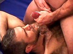 Hairy Man Wrestling Orgy