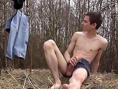 Super Hot Dude Outdoor