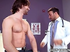 HotHouse Hot Doctor Buttfucked by Australian Grizzly