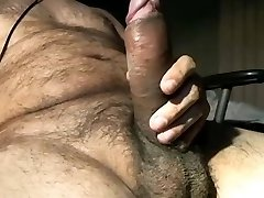 Hot horny big uncut pecker latino bear
