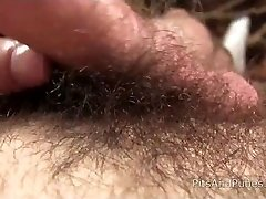unshaved cutie with a fuzzy crotch