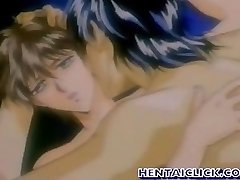 Anime gay having hot buttfuck sex activity