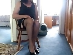 Putting on Nylons