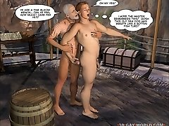 New Adventures of Cabin Boy 3D Gay Animation Animated Comics