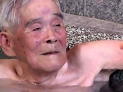Asian Grandpa Bath House