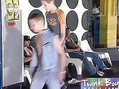 Youngster Boy Media Black cock in his lad ass
