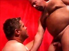 2 hot daddies fucking