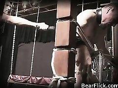 Gay bear policeman sends a torturous part2
