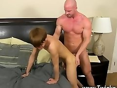 Steaming twink scene Horrible boss Mitch Vaughn wasn't amazed when he caught