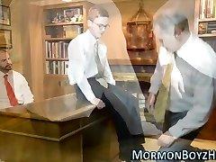 Elders trim mormons dick