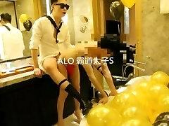 chinese lad hotel bondage sex part 2