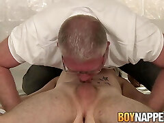 Twink sub Dylan Ducati bound for anal play and waxing