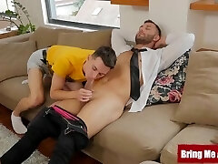 'BRINGMEABOY Young Gay Bareback Humped By Stepdad David Lee'