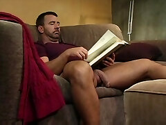 Two hot studs spin fuck