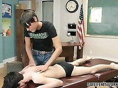 Hot rubdown becomes Twinks anal