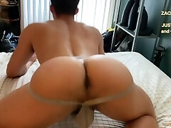 NATE GRIMES MUSCLED Bubble Butt JOCK ASS TAKES MY Black Man Meat up His HOLE