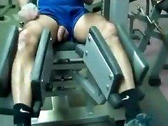 Str8 dad workout in gym