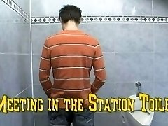 meeting in the station toilet