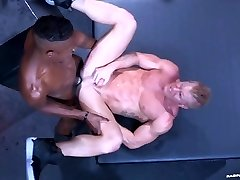 RagingStallion Johnny V Rump Pumped by BIG BLACK COCK
