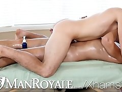 HD - ManRoyale Guy gets to smashed his masseuse