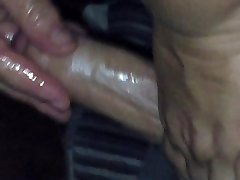 Real fledgling video of massage parlor handjob part II