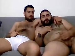 Hot turkish fellows having fun