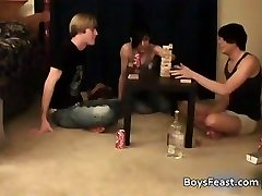 Super super-steamy homo teens having a game party part1