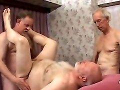 Mature father Three Way