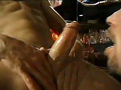 Fellatios in a bar