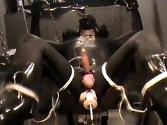 machine romped & milked to AGONORGASMOS, then pounded greater quantity!