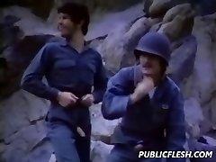 Vintage Gay Military Mutual Onanism