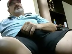 Hot redneck father with thick spear