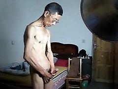 Japanese Slim Parent Wank