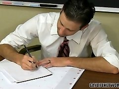 Insatiable college girl cheats with the teacher