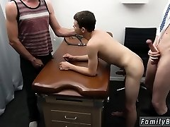 Steaming gay black haired folks movie Doctor's Office Visit