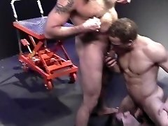 Backroom Muscle Daddies - Scene Two